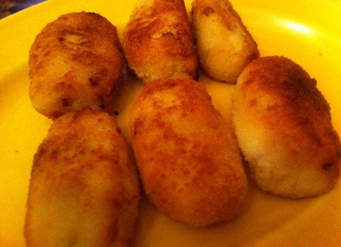Croquetas de calabacín para #Mycook http://www.mycook.es/receta/croquetas-de-calabacin