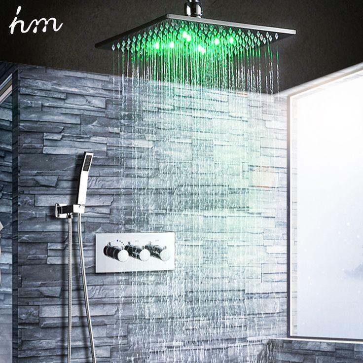 Best 25+ Led shower head ideas on Pinterest   Rainfall shower ...