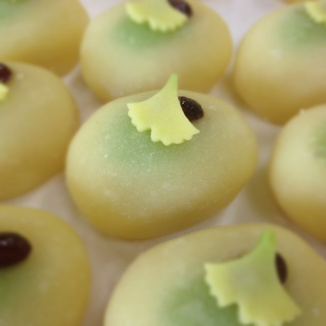 This is Japanese sweets. A name is Ginnan.