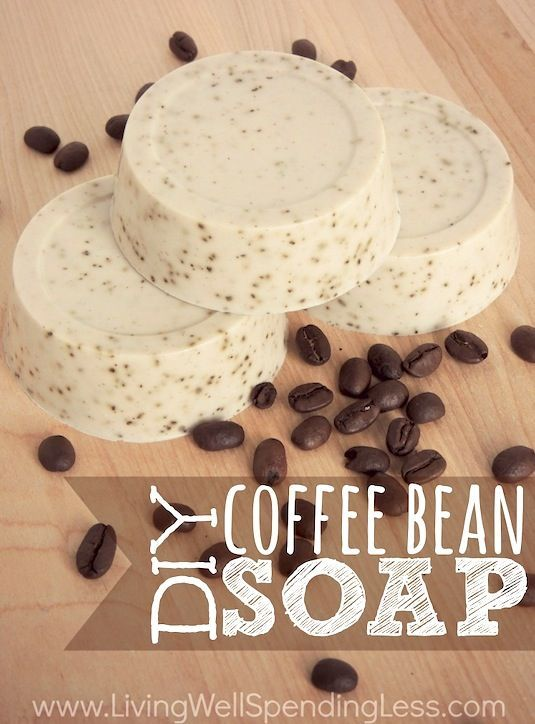35 Easy DIY Gift Ideas Everyone Will Love (with pictures) Including this coffee bean soap!
