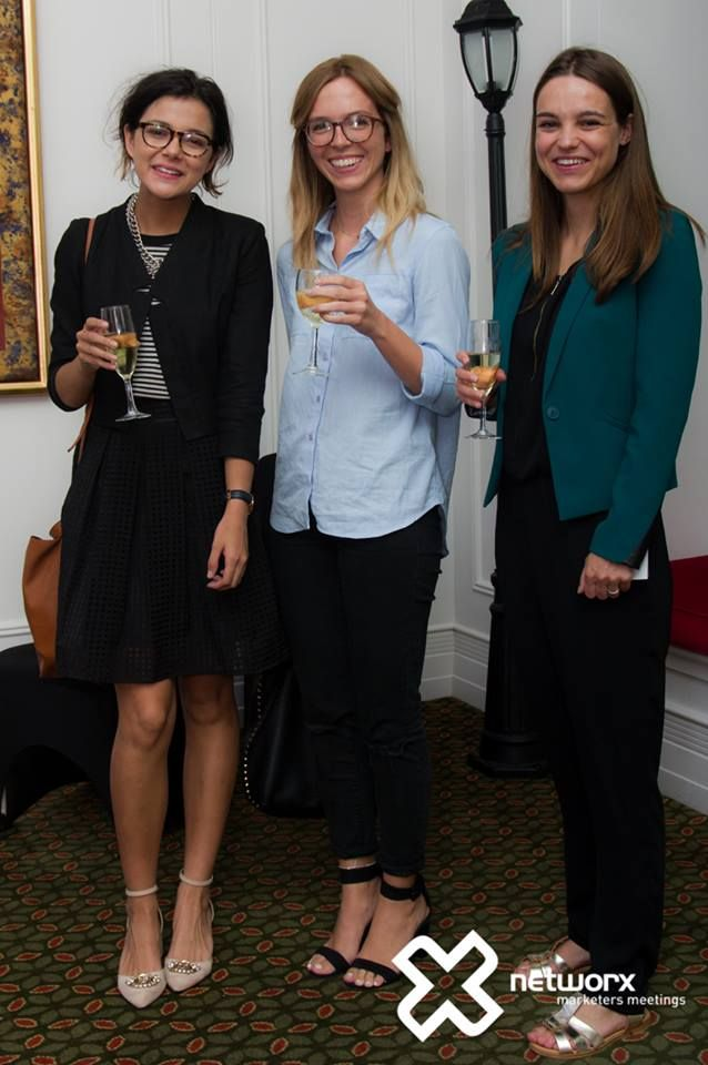Emilie, Chloe and Camille at the Networx event in Brisbane - March 2015