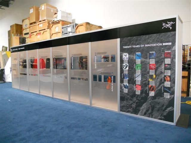 Produced and installed by FASTSIGNS Vancouver for CTM Comprehensive Tradeshow Marketing