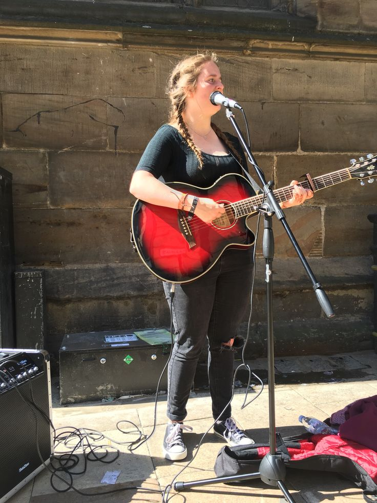 Female Street Performer - York UK