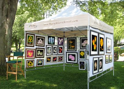 371 Best Art Booth Display Ideas Images On Pinterest
