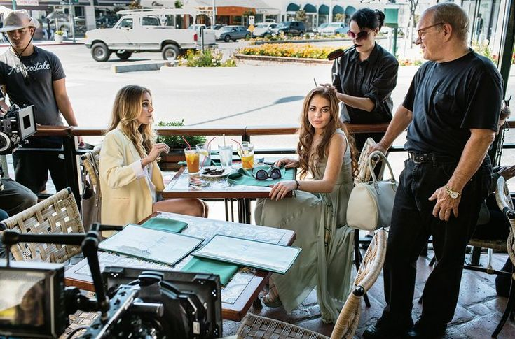 """The behind-the-scenes of the Lindsay Lohan film """"The Canyons"""" is worth its own movie."""