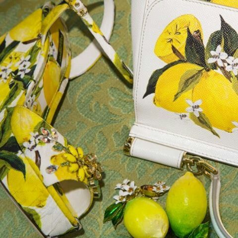 @stefanogabbana When life gives you lemons... wear them! #dgwowen