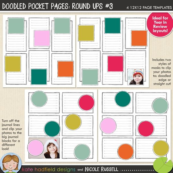 32 best pocket scrapbooking products kate hadfield designs 12x12 digital scrapbooking templates show off your photos with these fun scrapbooking templates from kate pronofoot35fo Gallery