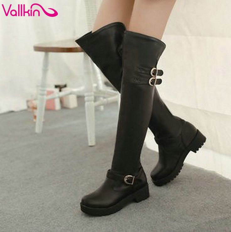 27% OFF all Items   To apply the savings -- Use Checkout Code: RSSCLEARANCE1   Once these items are gone - they are gone! Clearance items!  VALLKIN Flat Over the Knee Boots for Winter : Women's Boots : ReShop Store