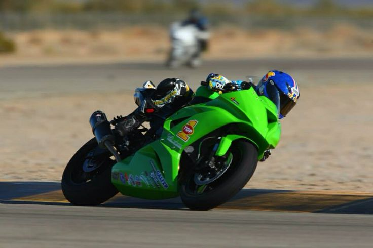 Danielle Diaz testing the 636 at Chuckwalla