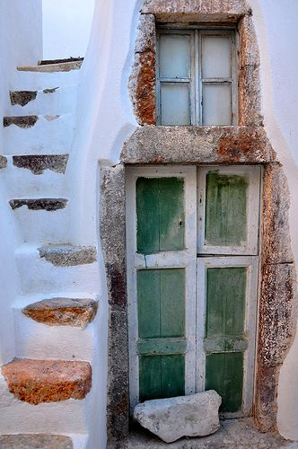 Santorini, Greece - quaint & reassuring as to another's community