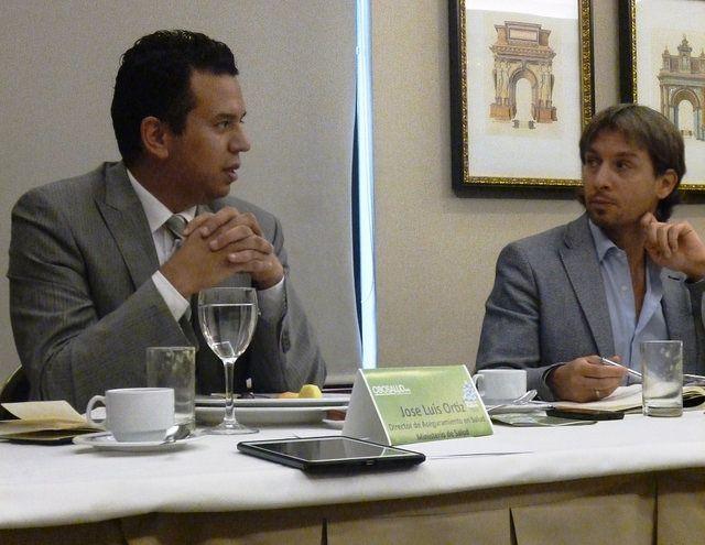José Luis Ortiz, Director de Aseguramiento en Salud del Ministerio de Salud y Protección Social.