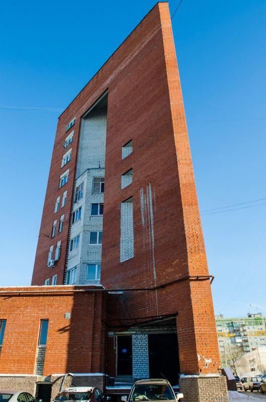 flat house in Nizhny Novgorod