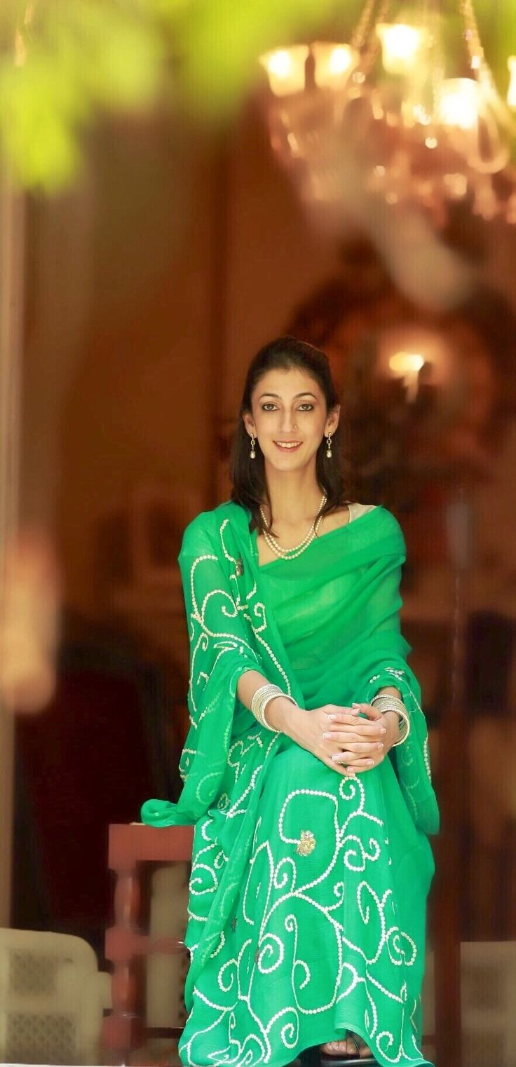Princess Mallika Kumari of Sahaspur, Uttar Pradesh. She is the daughter of Raja Chandra Vijay Singh of Sahaspur and Rao Rani Harsh Kumari of Jodhpur.