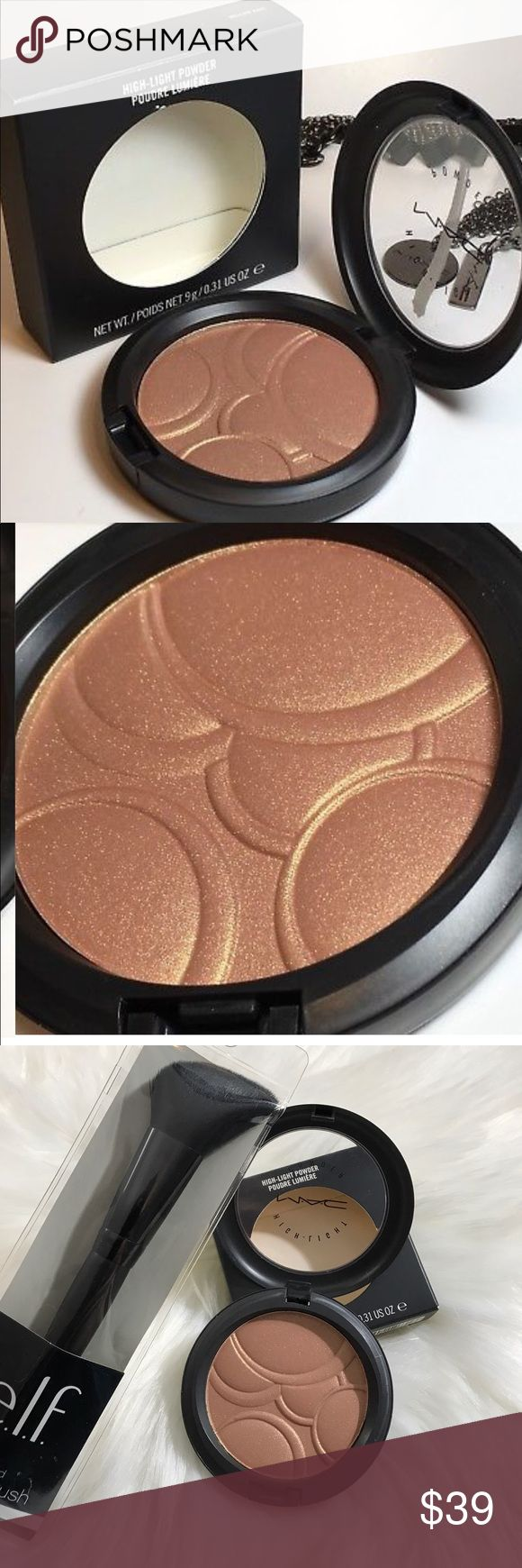 💄💯Mac x2 limited edition 'mellow rave' NIB ✨💯 New in box limited ! Highlighting mineral bronzer powder ! So beautiful new ! No longer sold in stores collectors item also ! Add to bundle for deals & offers comes with Elf brush brush and full gift ! Top trusted MUA& posh ambassador ! MAC Cosmetics Makeup Bronzer