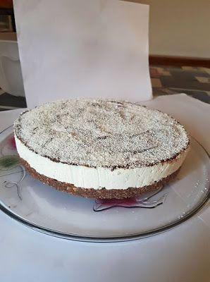 a.c: CHEESECAKE BOUNTY CON COCCO E NUTELLA – #ac #bounty #cheesecake #cocco #con…