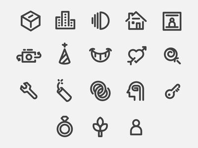 Icons  by Nick Sigler
