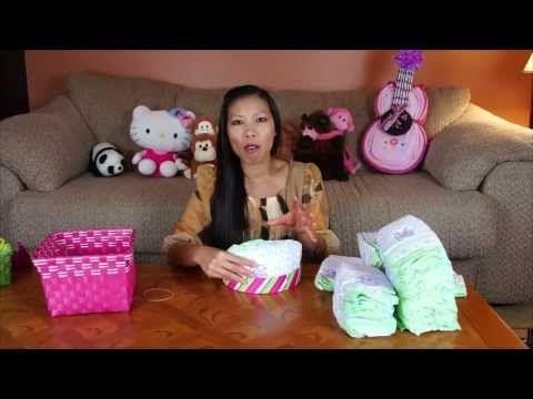 Guitar Diaper Cake (How To Make)