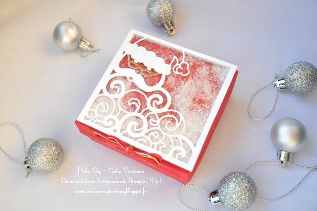 Hello Diy: Shaker Box ! stampin up santa