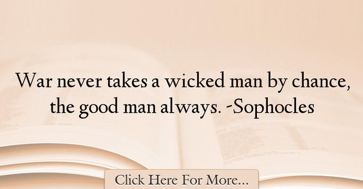 Sophocles Quotes About War - 71919