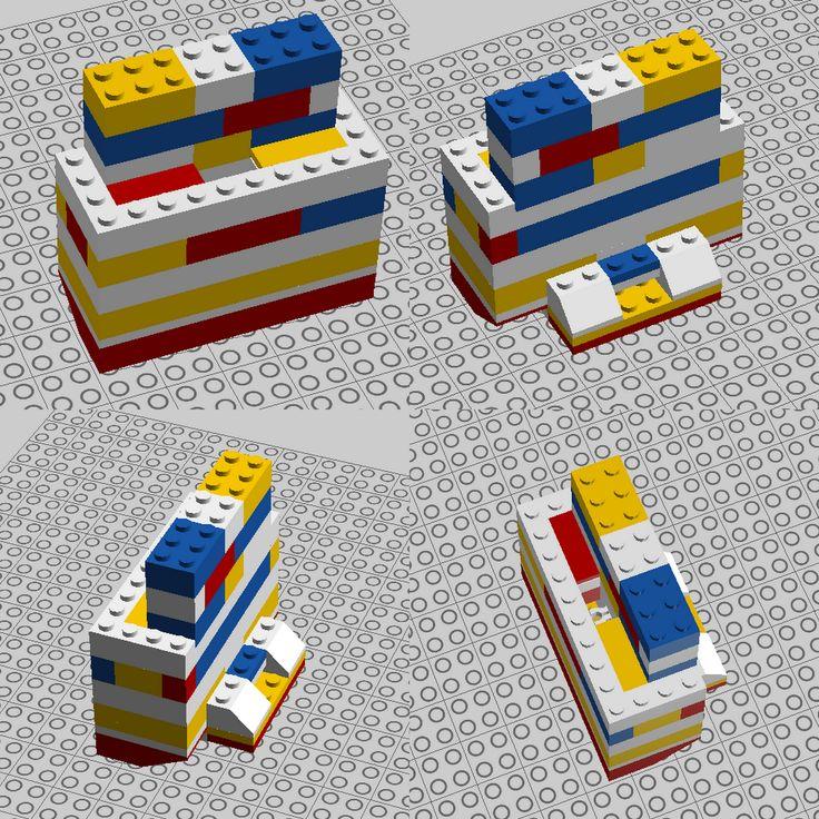 Lego iPhone docking station