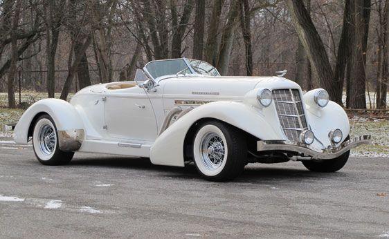 Auburn 852 Speedster 1936 replica