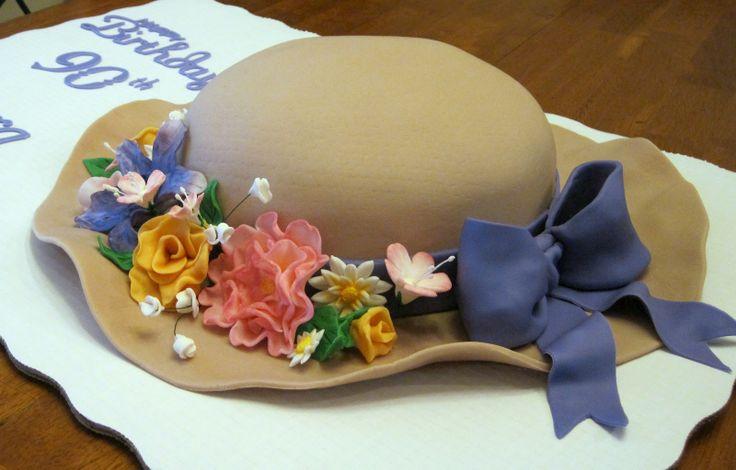 how to make a graduation hat cake
