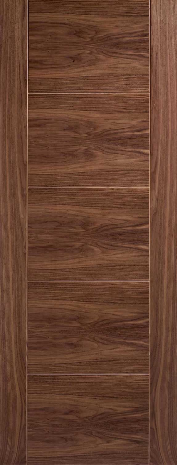 Vancouver Grooved Internal Pre-finished Walnut Doors