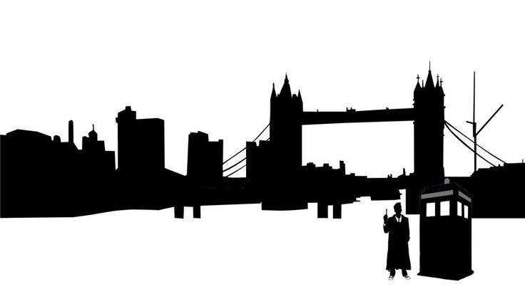 Doctor Who London Silhouette by ~joyu12 on deviantART