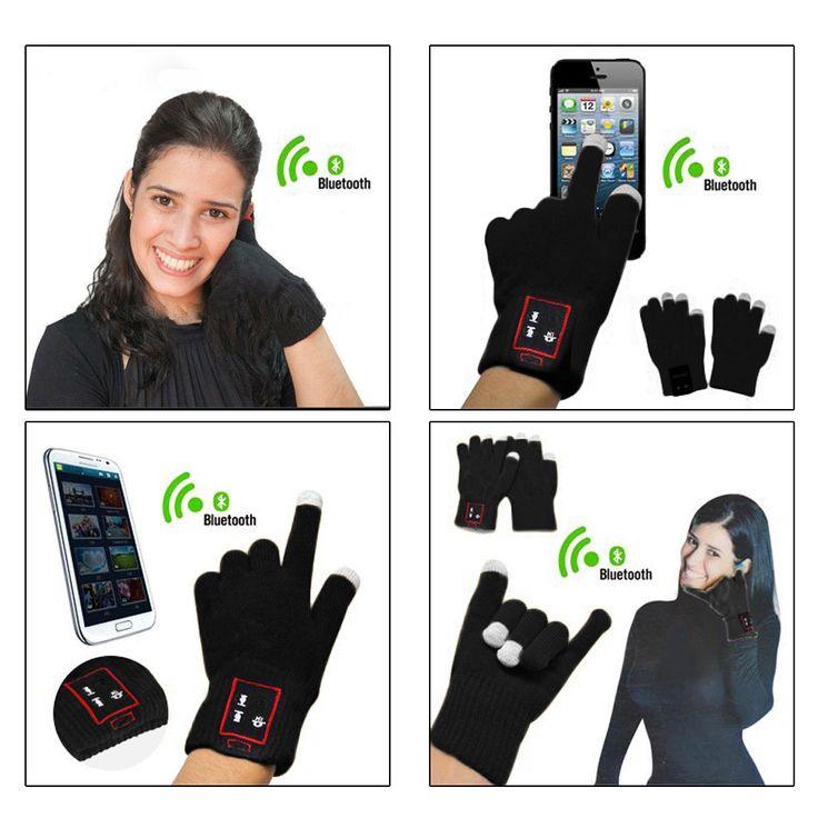 Hi Call Bluetooth Gloves Touch Screen Mobile Headset Speaker For Smart Phone Tablet Iphone günstig kaufen - Funbuy.com