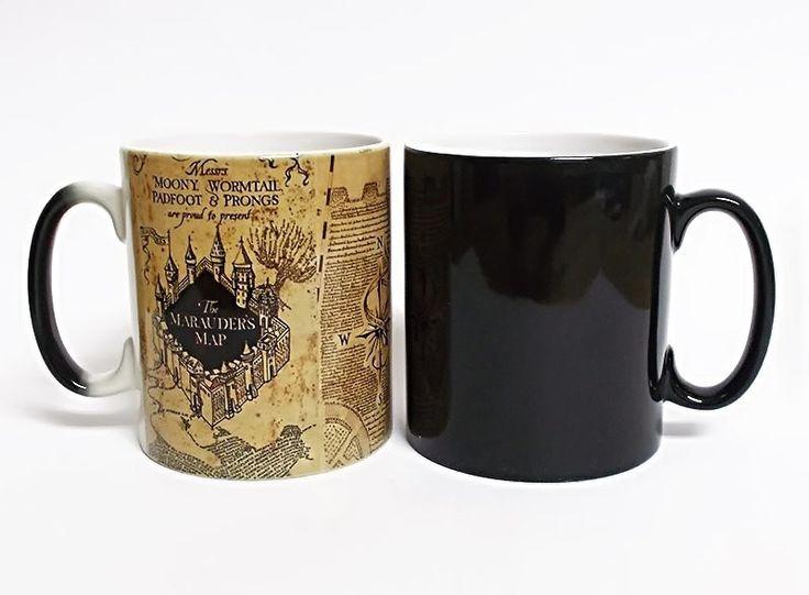 "Harry Potter ""Marauders Map"" Color Changing Mug"