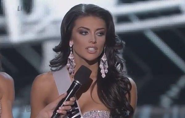 Miss USA 2013: Miss Utah Flubs Question About Women's WageDisparity
