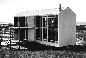 andrew geller jossel house fire island 1959