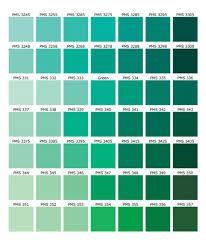 shades of green names - Google Search