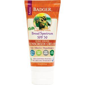 Badger Kids Sunscreen Cream SPF 30 87ml