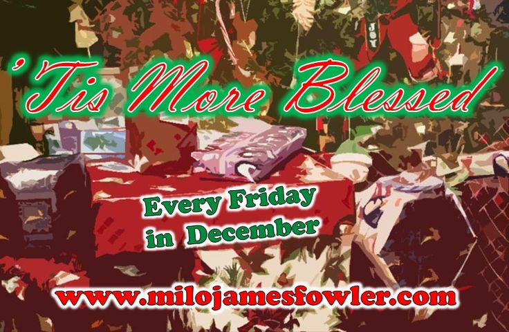 Who Wants to Win Some #Books? Win books every Friday in December in the #TisMoreBlessed #Giveaway