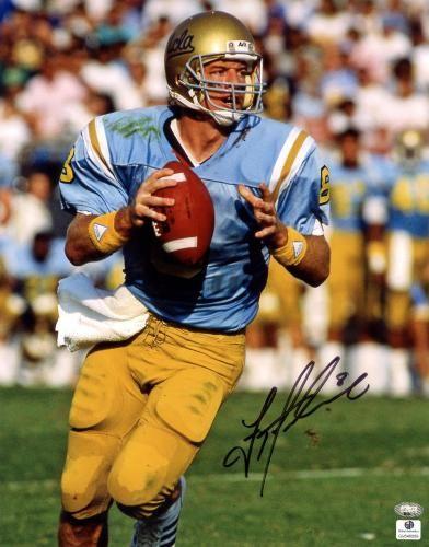 Troy Aikman Signed UCLA Bruins 11x14 Photo - Sports Memorabilia