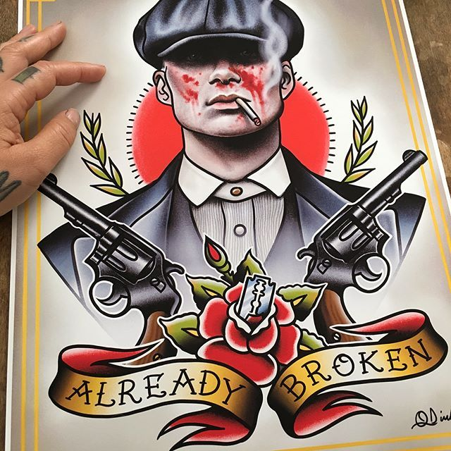 Peaky Blinders design