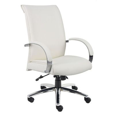 Boss Office Products Caressoft Plus Adjustable High-Back Office Chair & Reviews | Wayfair
