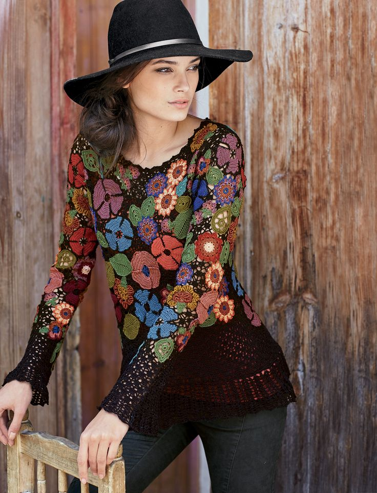 The details on this are fabulous! Scarborough Fair Pullover