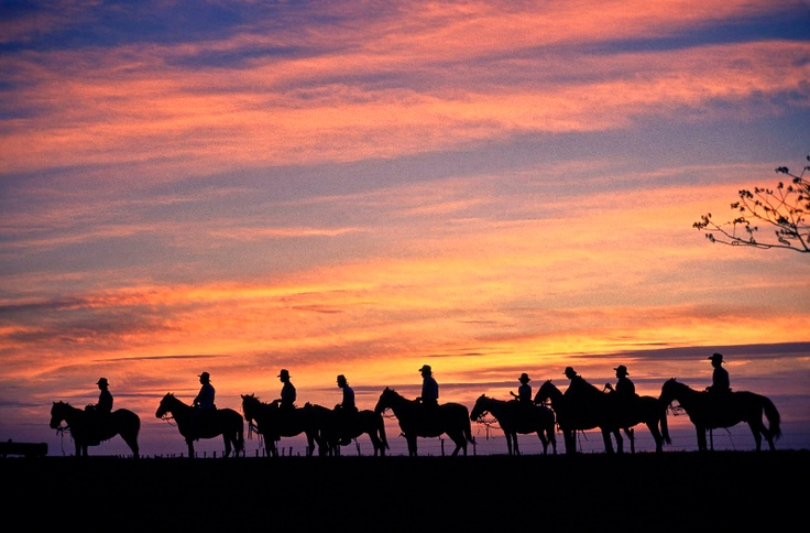 Horse back-riding at the East Plains or Llanos Orientales