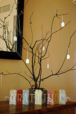 Show Me Crafts: Gratitude Tree
