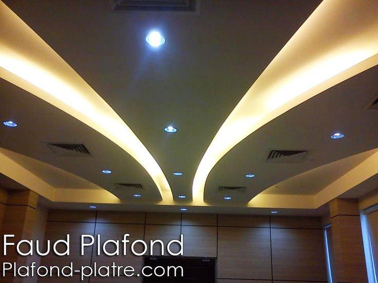 Les 25 meilleures id es de la cat gorie faux plafond led sur pinterest eclairage led plafond - Eclairage plafond suspendu ...