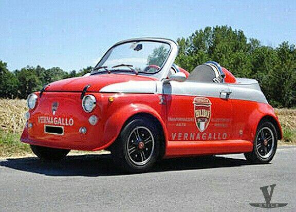 FIAT 500 SPEEDSTER BY VERNAGALLO Company-Torino-Italy