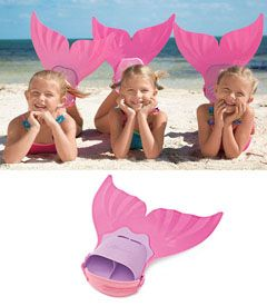 cute Mermaid fins for summer.