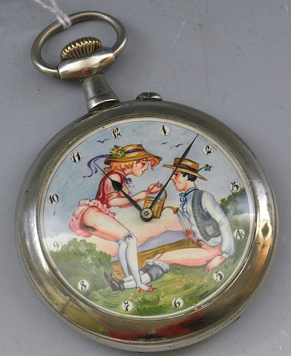 Erotic pocket watches