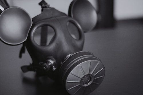 Adult Size Mickey Mouse Gas Mask by houseofdevali on Etsy ...