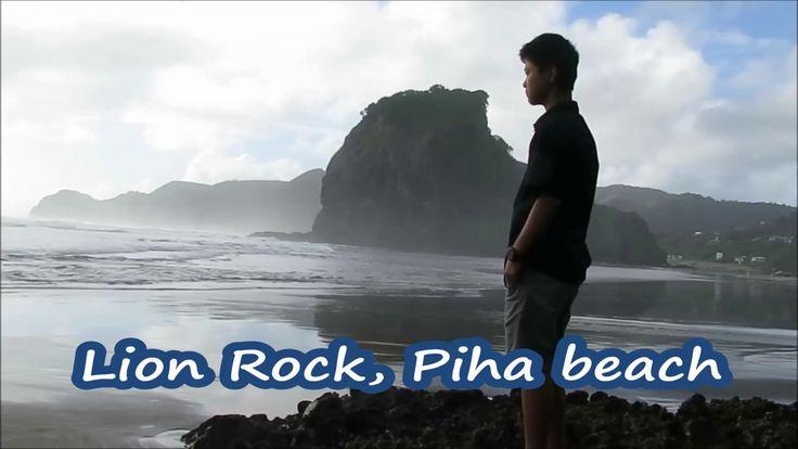 Lion Rock, Piha beach