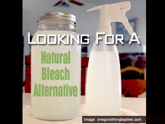 Looking For A Natural Bleach Alternative? 12 cups water 1/4 cup lemon juice 1 cup hydrogen peroxide  Mix. Add 2 cups per wash load or put in spray bottle and use as a household cleaner