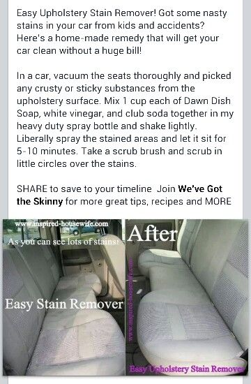 Stain Remover By Casey Berry