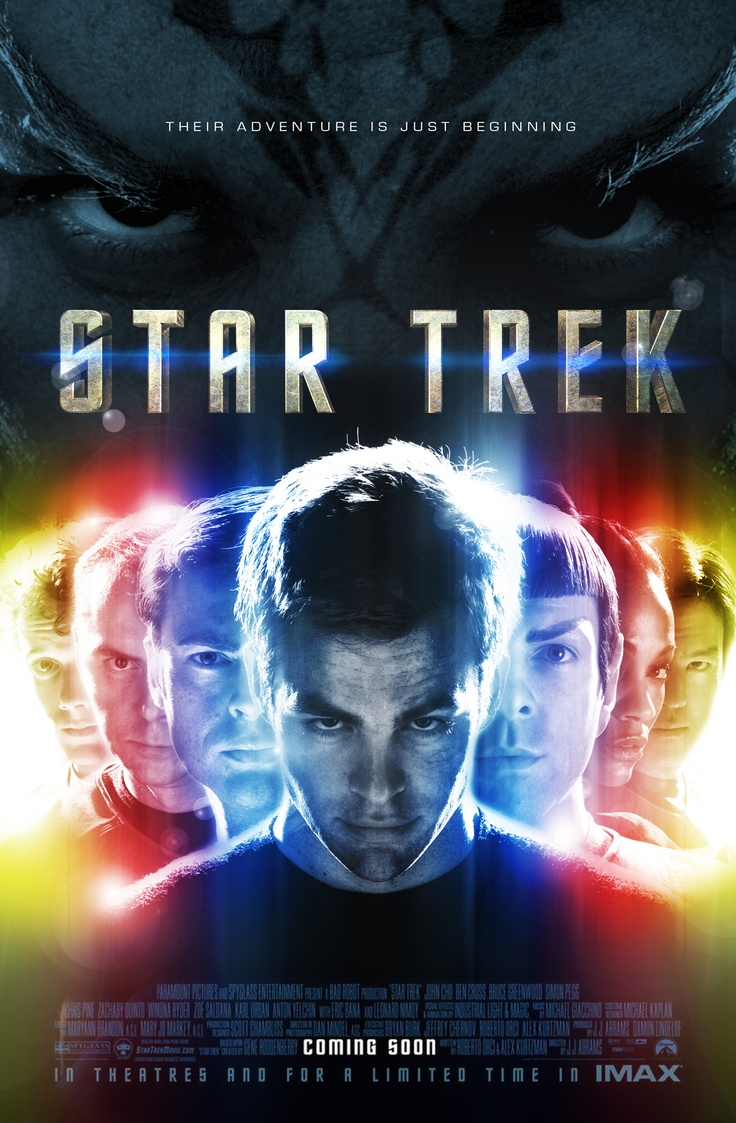 """Star Trek"" (2009) Theatrical key art exploration (TMP Homage)"
